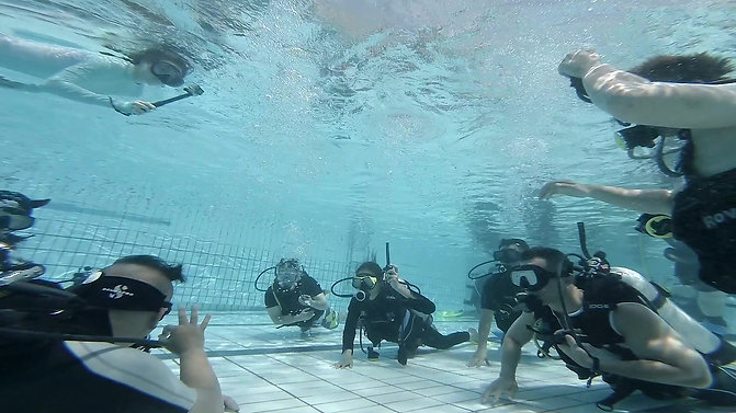 Fitness 360 goes Discovery Scuba Dive