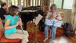 Rehearsal Madeleine Dring Trio
