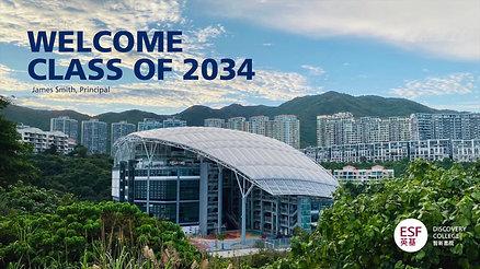 Welcome 2021-2022 - James Smith, Principal
