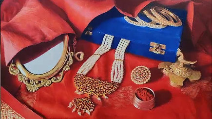The making of Shringaar - Indian adornment