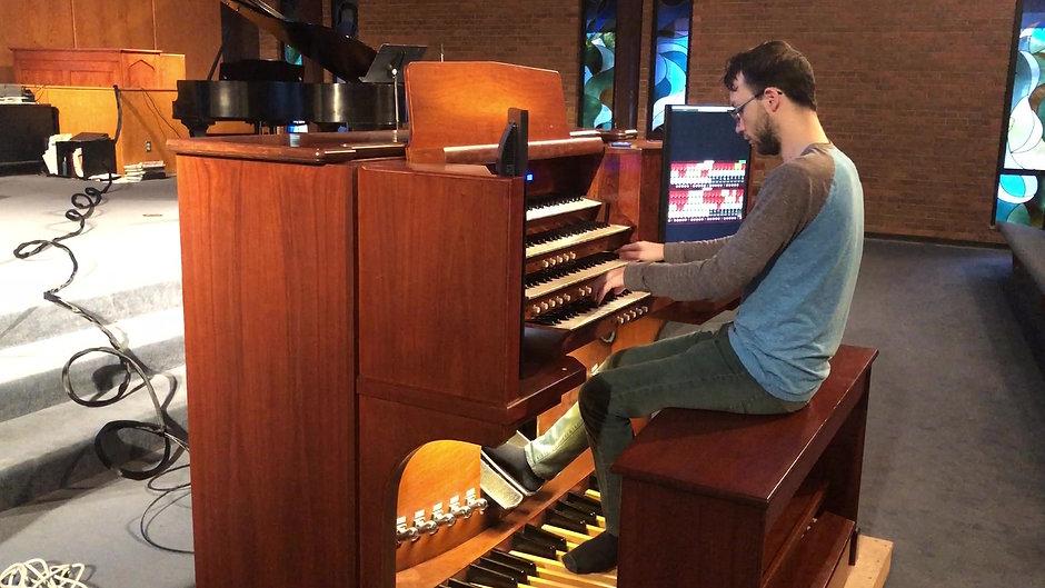 GUMC's Hauptwerk Organ