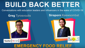 Build Back Better Episode 5: Emergency Food Relief Program with Siraporn Kaewsombat