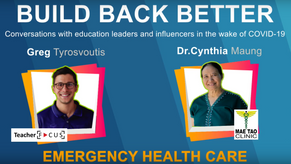 Build Back Better Episode 7: Emergency Healthcare with Dr. Cynthia Maung