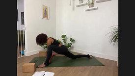 Recover x Ashley Vinyasa Flow + Restorative Yoga #053021