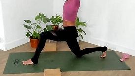 Recover x Ashley Vinyasa Flow + Restorative Yoga #051621