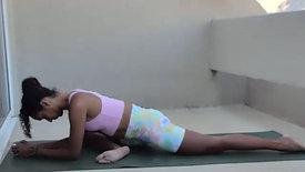 Recover x Ashley Vinyasa Flow + Restorative Yoga #042521