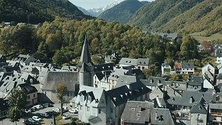 Clip du Village d'Arreau pour bandeau Facebook 🏘