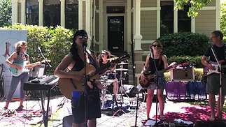 The Sirens Napa Debut - Porchfest 2019