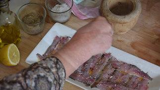 Carpaccio de Sardines