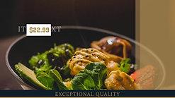 restaurant ad example