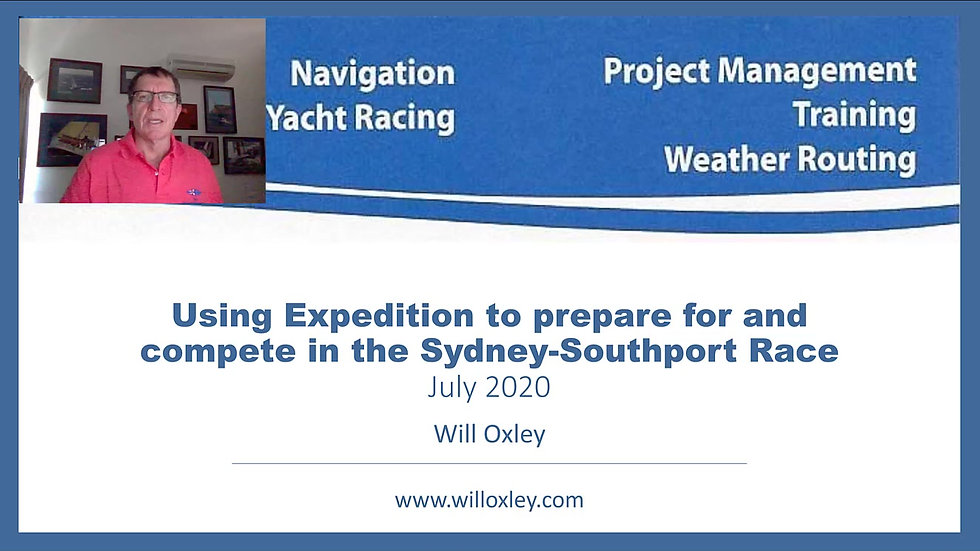 Prepare for and compete in the Gold Coast Race. Video 2