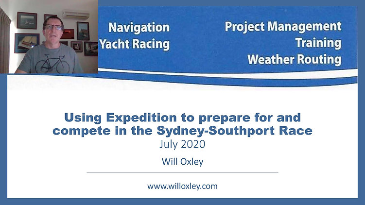 Sydney Southport Race Intro Video