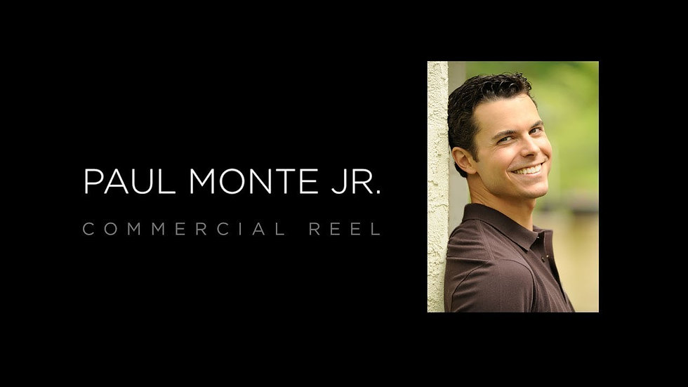 Paul Monte Commercial Reel