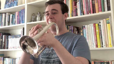 Cornet Tips with Tom Nielsen for A Happy Day (Erik Leidzen)