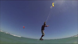 Kiting freestyle clip