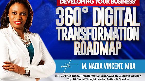Developing Your Business' 360° Digital Roadmap