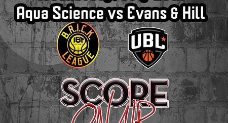 Brick League Basketball July 15th Aqua Science vs Evans and Hill