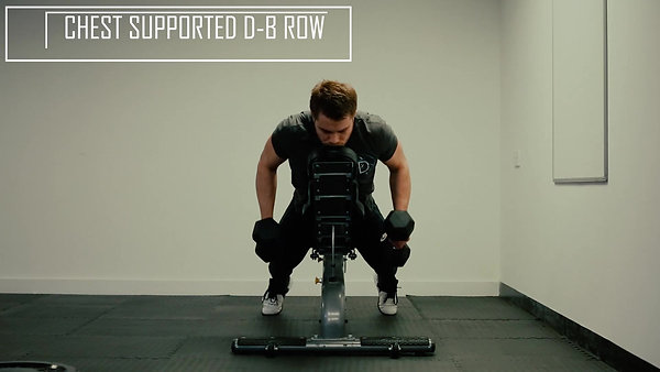 Chest Supported D-B Row