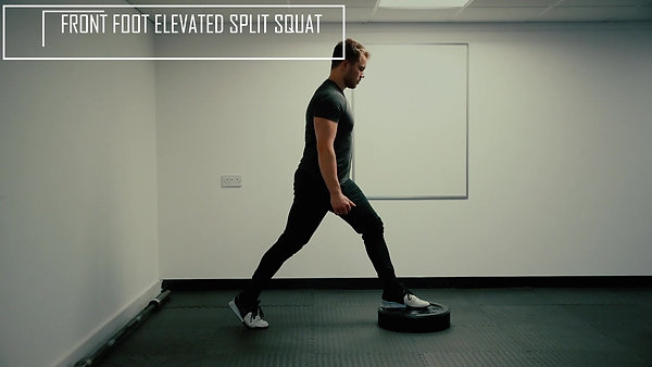 Front Foot elevated split squat