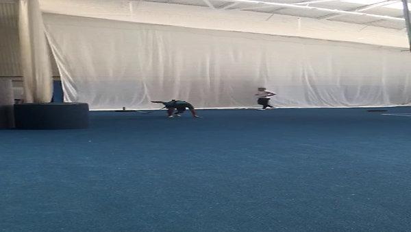 Matt Weston sprint training
