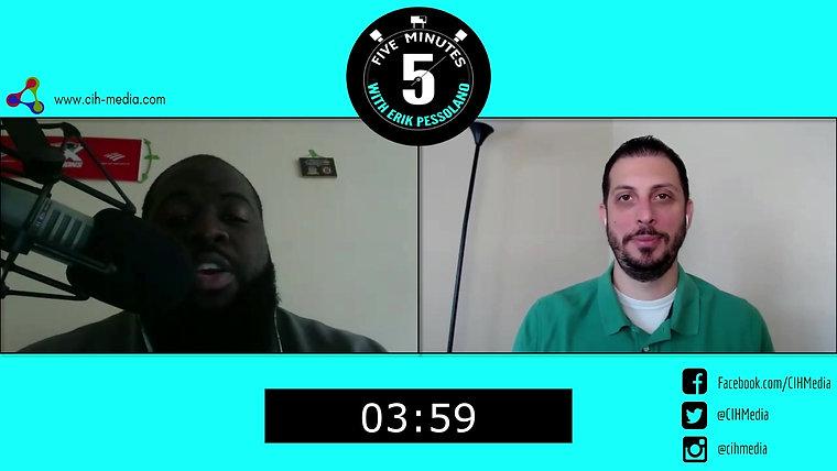5 Minutes with Erik Pessolano (Shukri Wrights)