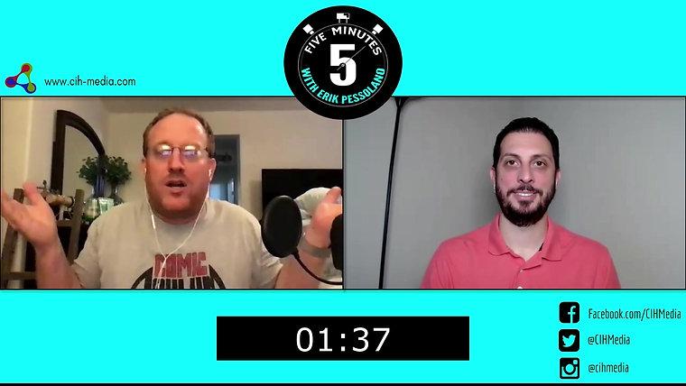 5 Minutes with Erik Pessolano (Kevin Pillow)