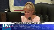 Paul Herman City Council Forum Speech