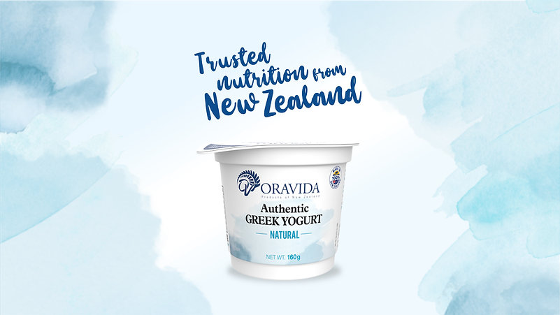 Oravida Yogurt Instagram Ad
