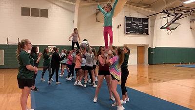 Stunt routine