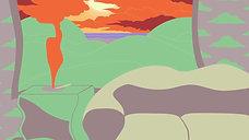 Smokey Sunset Animation