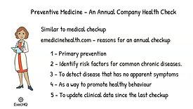 Preventive Medicine - An Annual Company Health Check