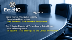 ExecHQ Business Round Table 2020-06-04