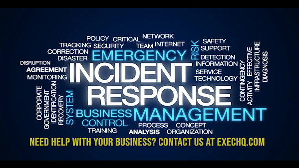 Emergency Response to Business Needs