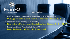 ExecHQ Business Round Table 2020-05-07