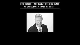 Ron Butler Wednesday 2020-11-18