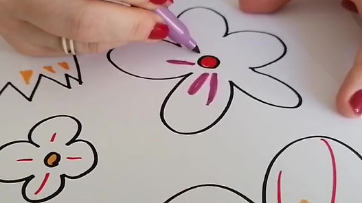 Learn to Draw Simple Flowers