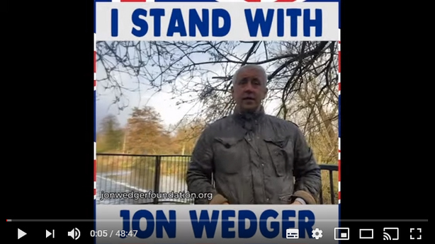Jon Wedger's pleading with people to stand up for  children