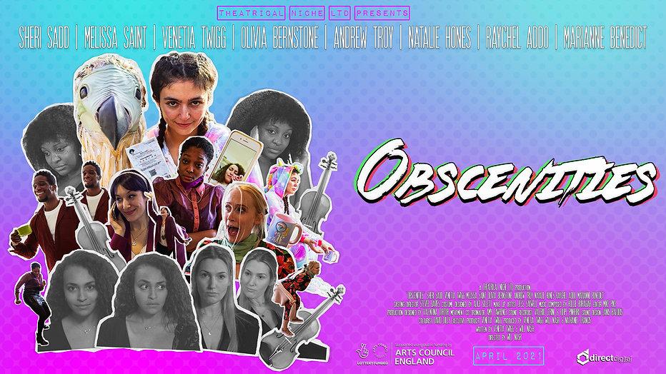 Obscenities Trailer - 2021