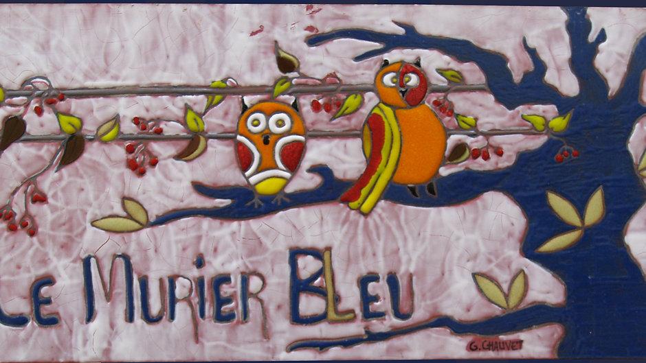 Le mûrier bleu