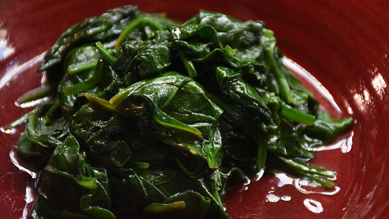 Wilted Spinach