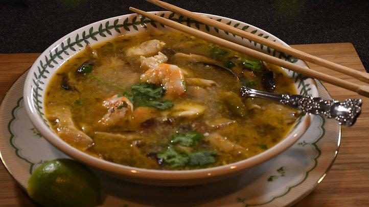 Thai Coconut Seafood soup