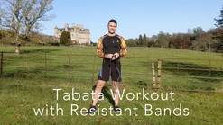 Tabata Workout with Resistant Bands