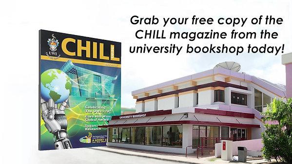 CHILL Campus Ad