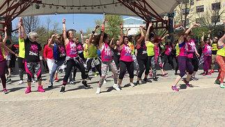 Zumba Hula Hoop Flashmob