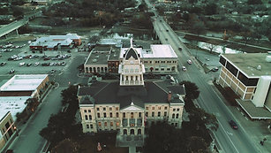 Bell County Court House Aerial (watch in 4k)
