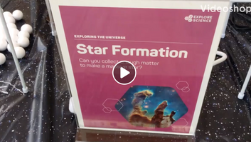 Virtual Pop Up Science: Star Formation