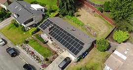 Bellevue, WA 16.8kW SunPower Solar Installation