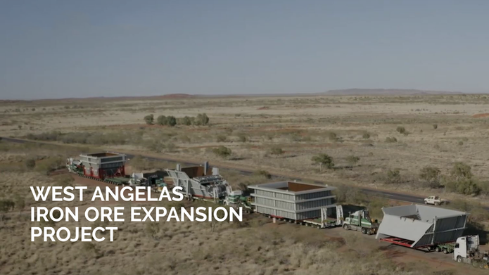 West Angelas Project Video