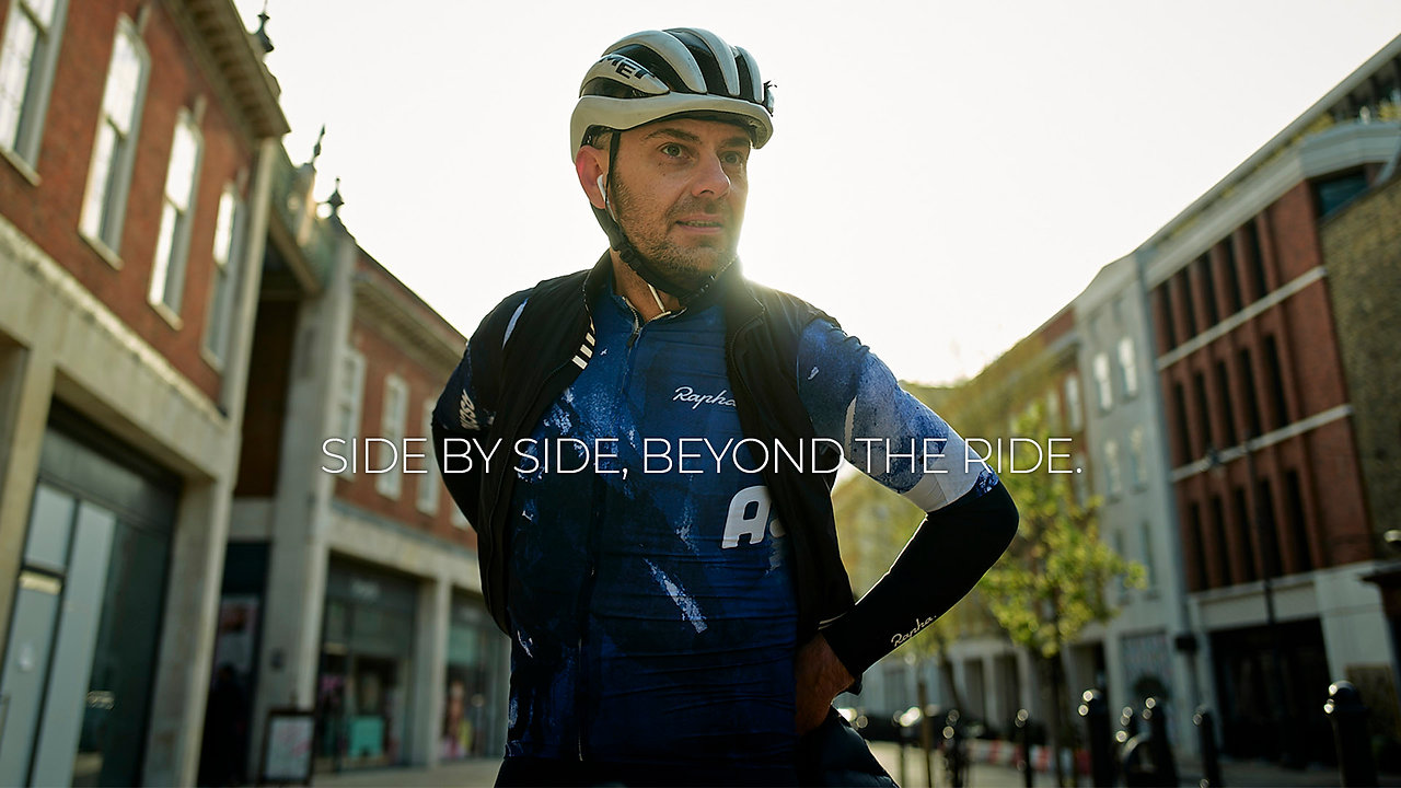 Side by side, beyond the ride