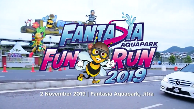 FANTASIA AQUAPARK FUN RUN 2019